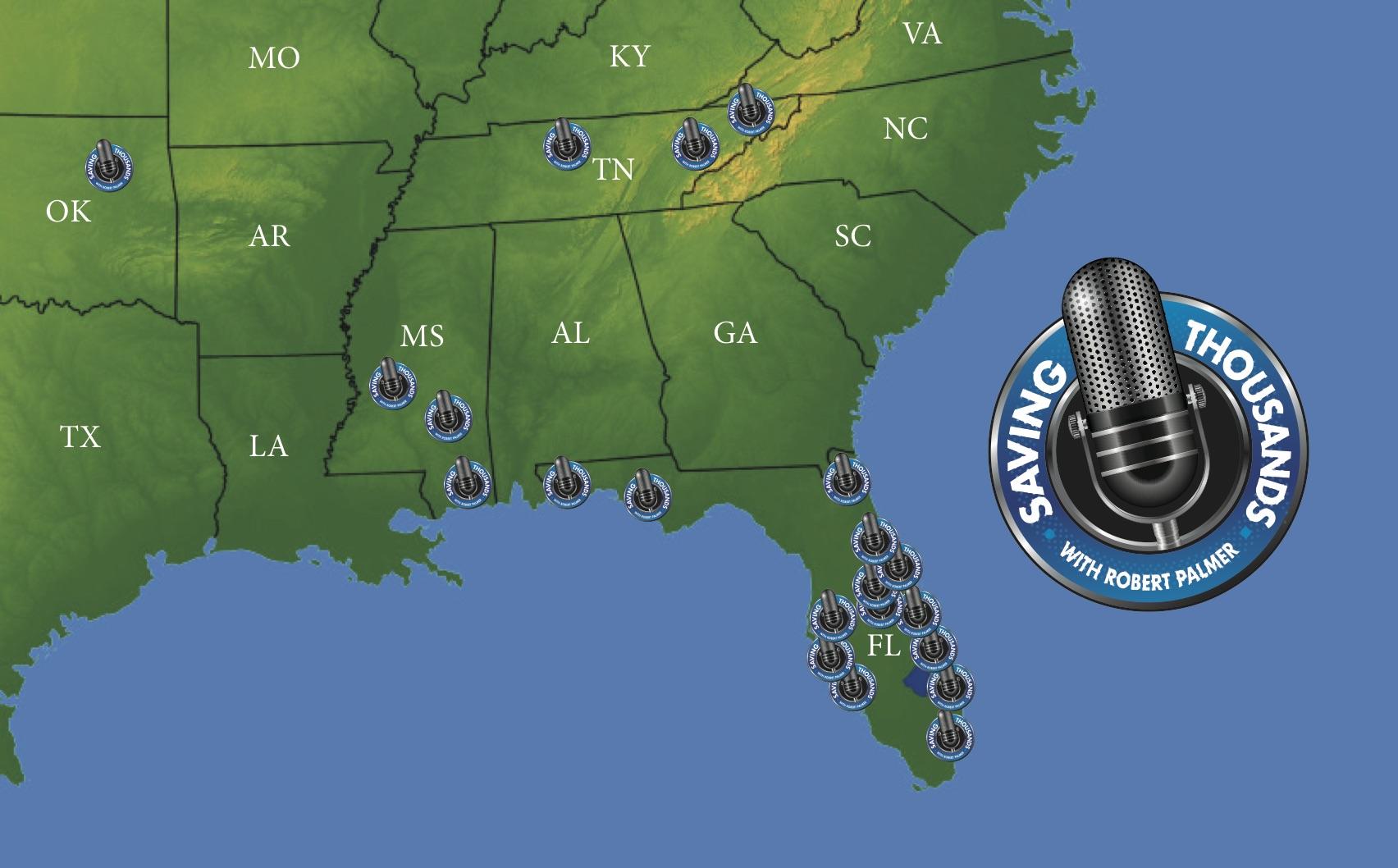 Saving Thousands Radio Map