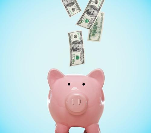 Credit Saving Money