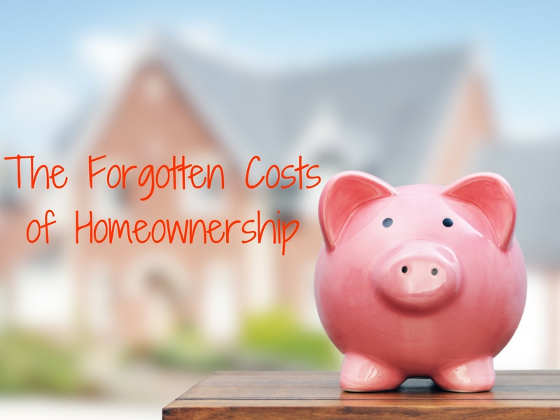 The Forgotten Costs of Homeownership